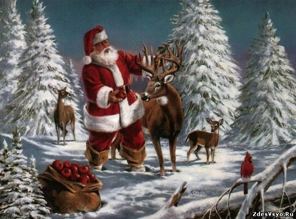 Дед Мороз Картинки, рисунки красивые