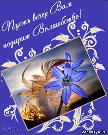Волшебного вечера Картинки про вечер красивые