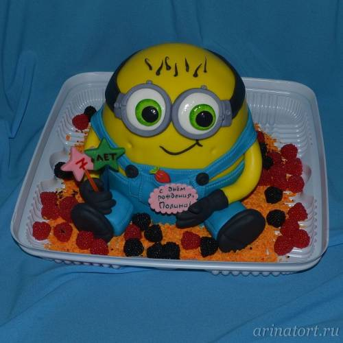 детский торт миньон на заказ